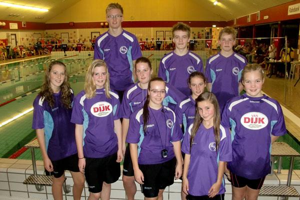 Medailleregen ZVZ zwemmers in Steenwijk
