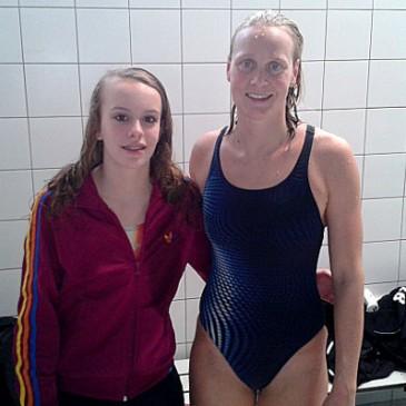 Marit Boxum debuteert tijdens Swim Cup Amsterdam