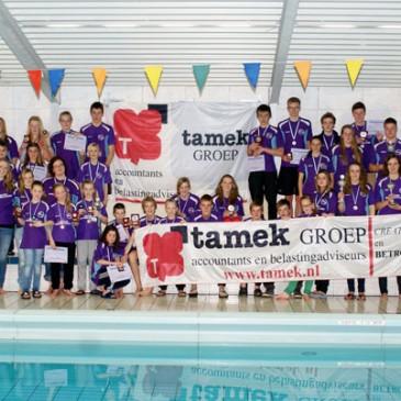 Zwemmers ZVZ presenteren zich voor eigen publiek met een positieve inzet