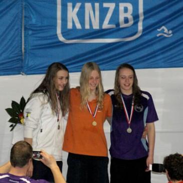 Brons voor Marit Boxum bij NJK zwemmen Amsterdam