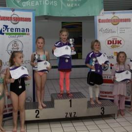 Jongste ZvZ zwemmers strijden om de eer