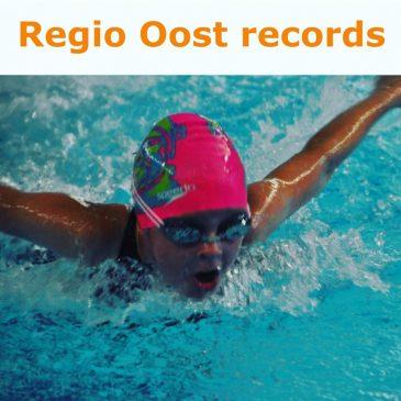 Emmelien Smelt verpulvert oud Regio Oost record op de 100 meter wisselslag