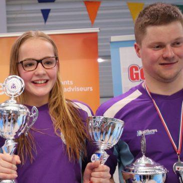 Myrthe Dorgelo en Pieter-Jan de Vries ZvZ clubkampioenen 2018