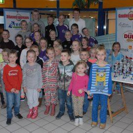 Clubkampioenschappen jongste ZvZ zwemmers