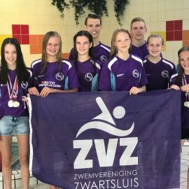 ZvZ junioren Myrthe Dorgelo en Kim Schraa kampioen van Overijssel