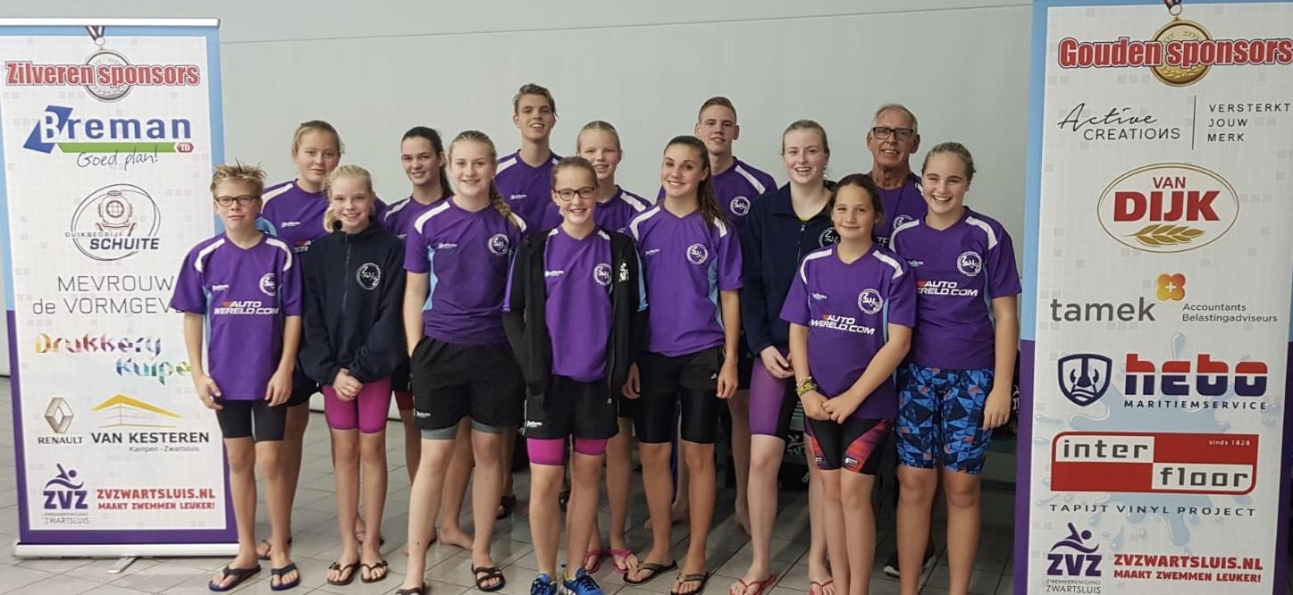 ZvZ zwemt junioren-jeugdcircuit in Zwolle