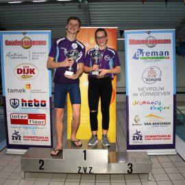 Myrthe Dorgelo en Daan Jansema ZvZ clubkampioenen 2019