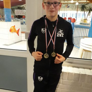 ZvZ neemt 18 medailles mee uit Urk