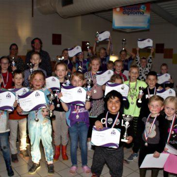 Clubkampioen-schappen voor de jongste ZvZ zwemmers