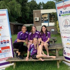 ZvZwartsluis in actie tijdens Nederlandse Junioren & Jeugd Kampioenschappen