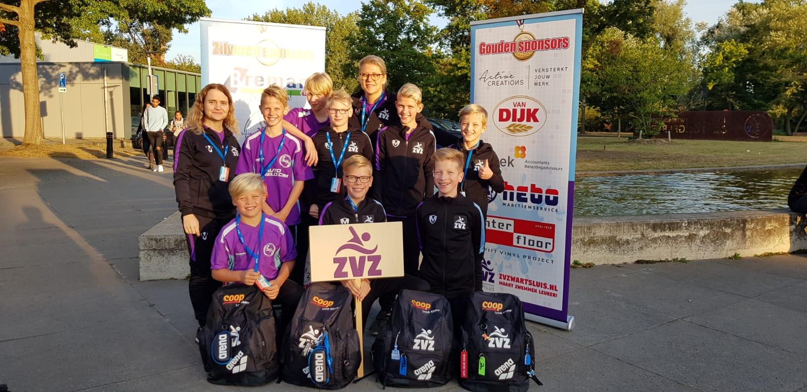 ZvZwartsluis knalt op Nederlandse Estafette Kampioenschappen 2019