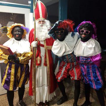 Sinterklaas op bezoek bij ZvZ