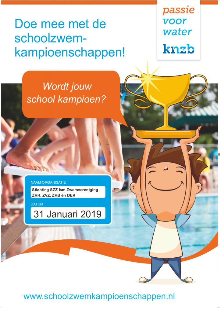 Welke school wordt zwemkampioen 2020?